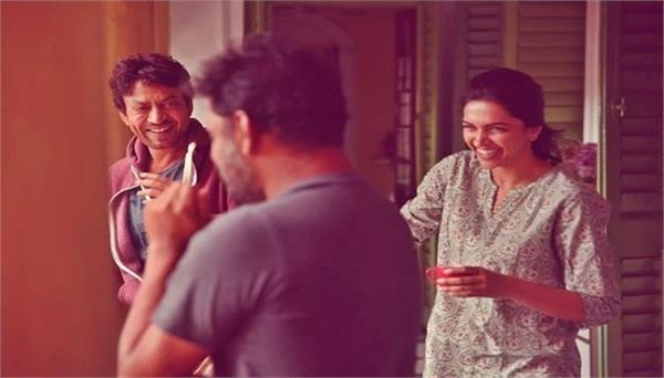 piku deepika padukone viral post with irrfan khan on instagram