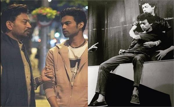 irrfan khan son ayaan khan share picture with his father
