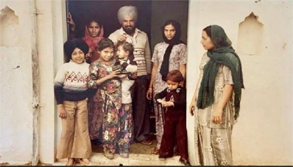 gippy grewal shared childhood pic on his instagram