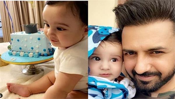 gippy grewal celebrates his son gurbaaz 6 months complete