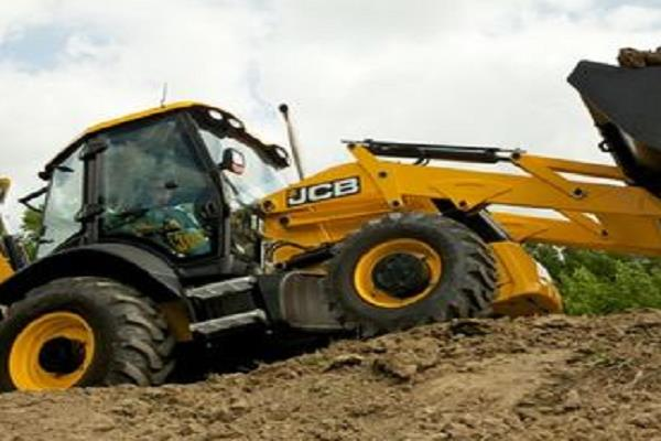filed a case against an unidentified jcb owner