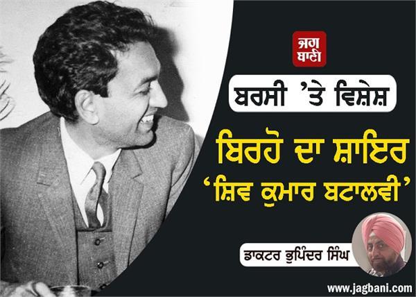 shiv kumar batalvi  death anniversary