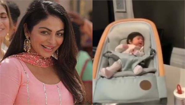 pollywood actress neeru bajwa shared a beautiful video on instagram