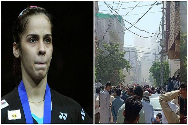 saina tweeted on karachi plane crash pakistan