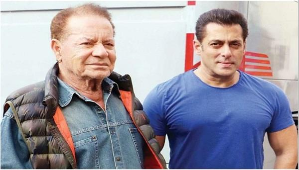 salman khan visited his house in mumbai to check in on his parents