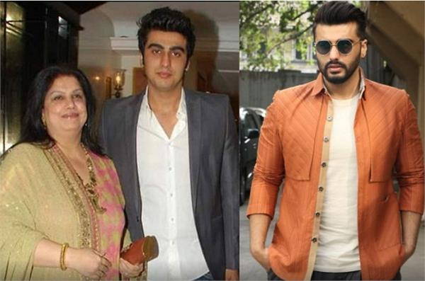 arjun kapoor has shared that he did not touch their mother