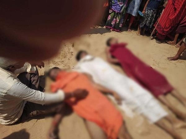 7 youths death as drowning in sone river today