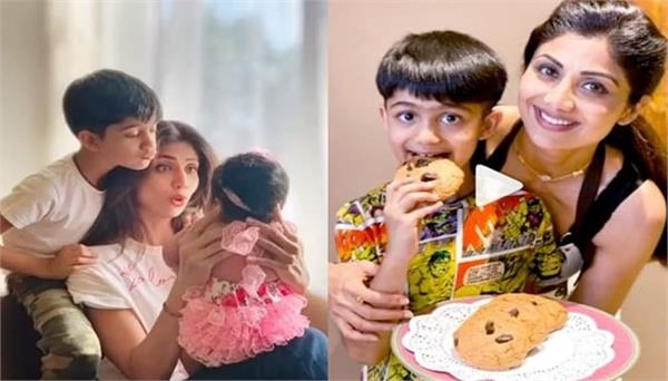 shilpa shetty kundra  s son viaan write lovely letter on mother  s day
