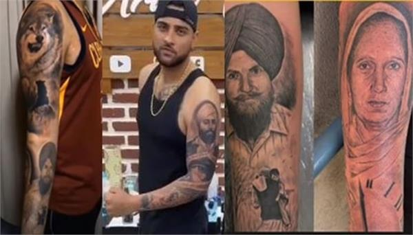 know the story of karan aujlas parents and wolf tattoo