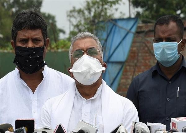 bjp leader dilip ghosh cyclone police west bengal