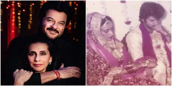 anil kapoor had tears in his eyes when he saw sunita kapoor as his bride
