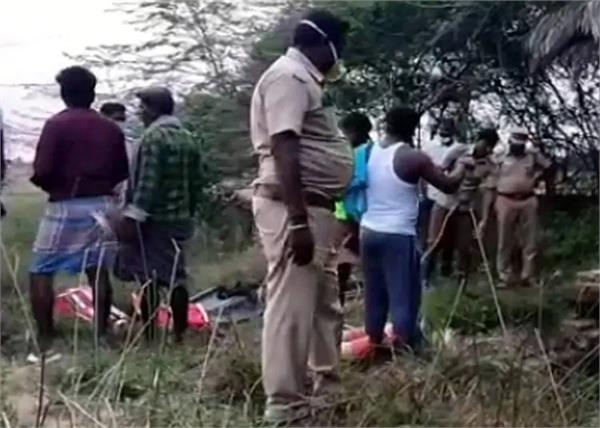 tamil nadu father children well murder execution