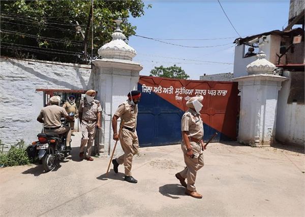 nabha  jail  checking  mobile phone