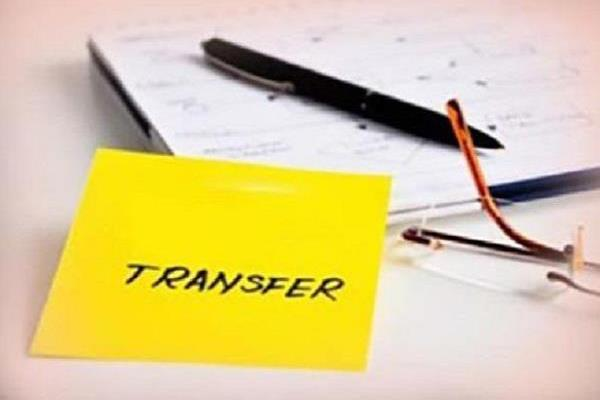 government of punjab  transfer  officer  sherpur