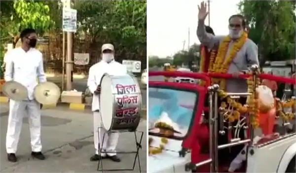 madhya pradesh  indore asi was welcomed