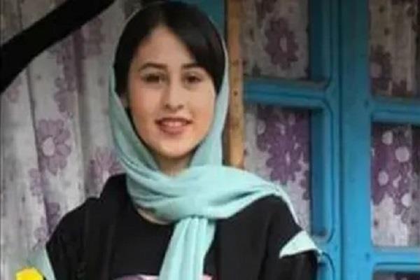 iran 14 year old girl