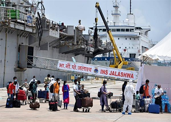 ins jalashwa carried 588 indians from the maldives