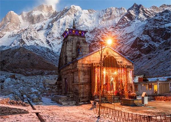 pilgrims from uttarakhand can visit kedarnath temple