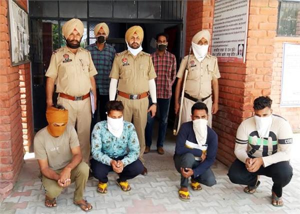 murder  police  youth  bhavanigarh