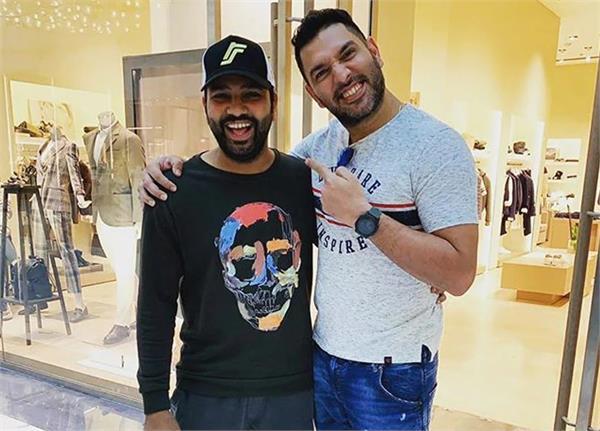 yuvraj congratulates rohit on his birthday  hitman becomes a troll