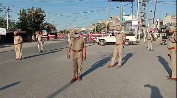 coronavirus jalalabad curfew deadly attack on police
