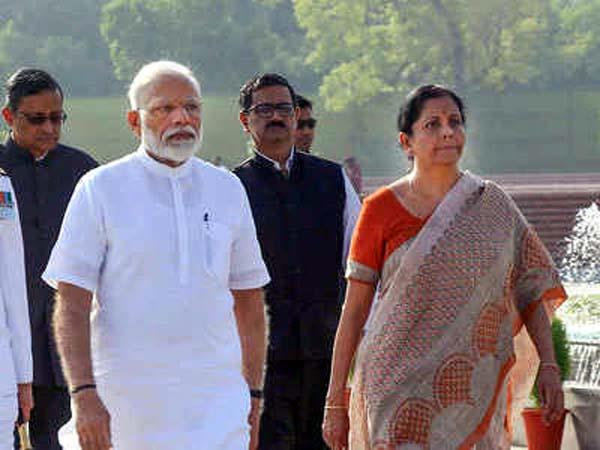 finance minister met pm modi  second relief package may announced soon