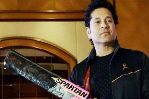 spartan apologizes to sachin for bat making company