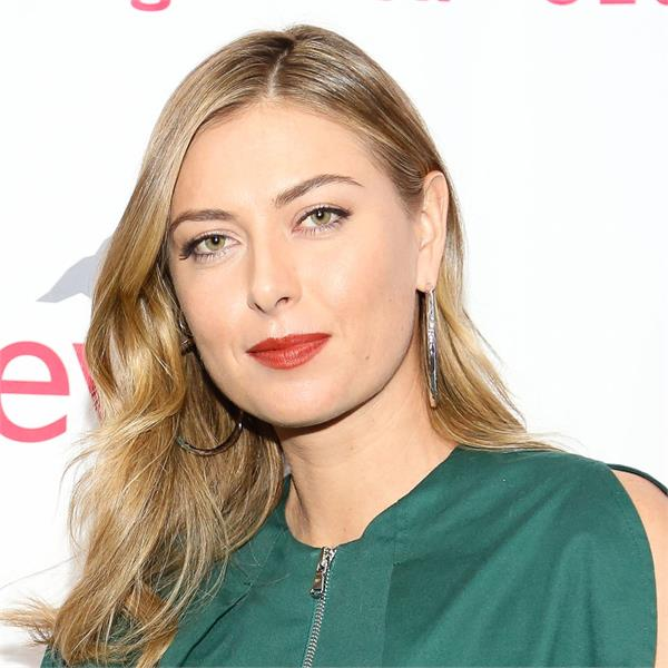 maria sharapova is bored with being isolated at home