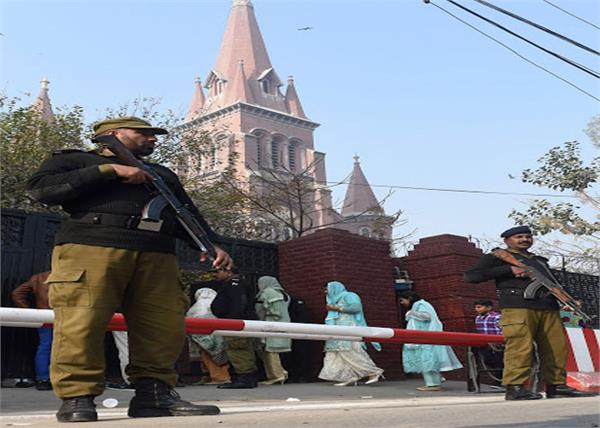 churches vandalized by gunmen over land dispute in pakistan