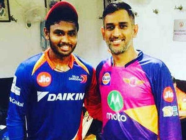 sanju told how his dream came true because of dhoni