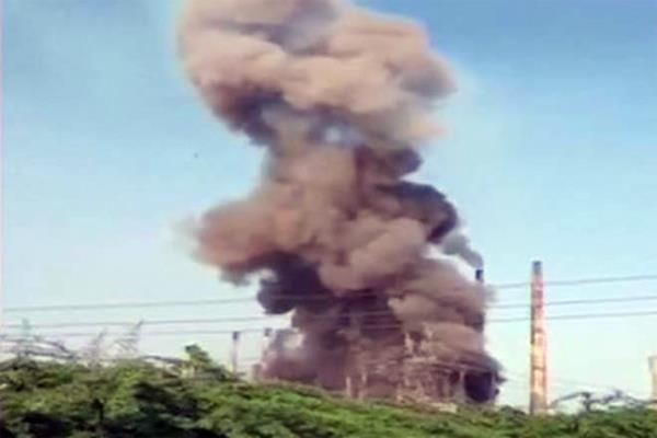 explosion at a chemical factory in lucknow