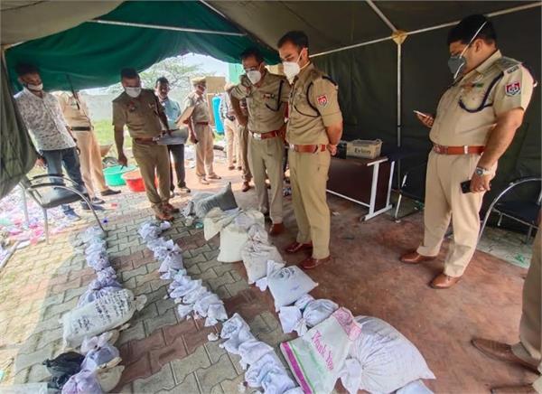 punjab police  drug destruction campaign