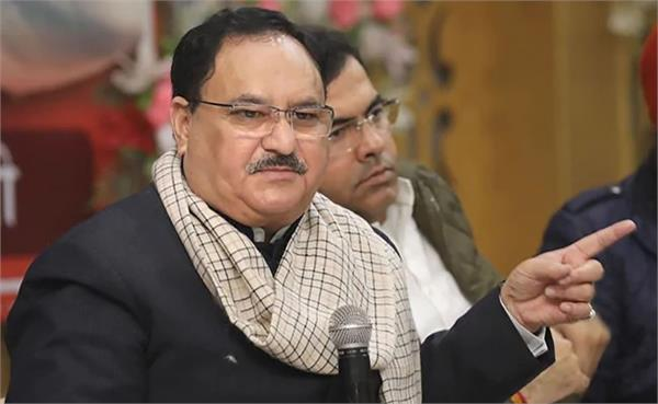 where your nadda ji disappeared  neither at the headquarters nor on twitter
