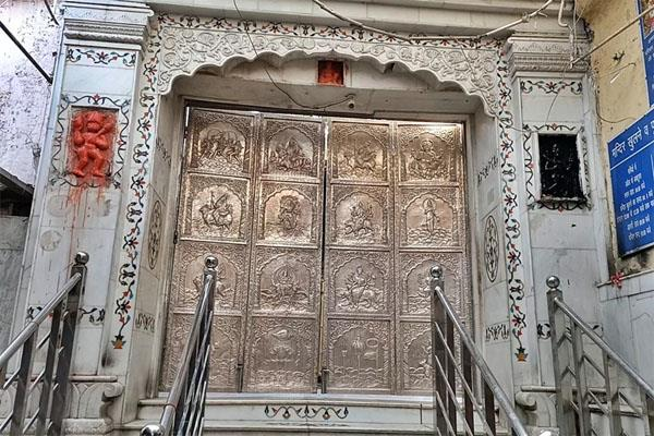 not yet to open the doors of chintpurni