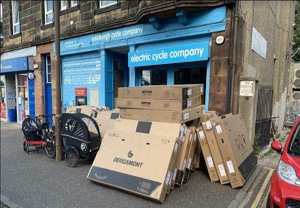 sales e bikes increase lockout scotland