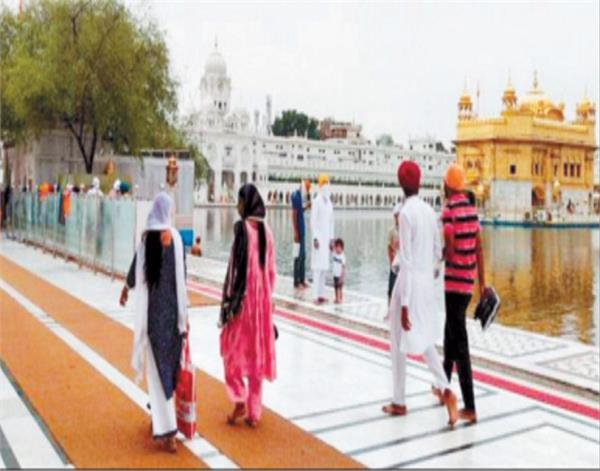 amritsar sri harmandir sahib weekend lockdown
