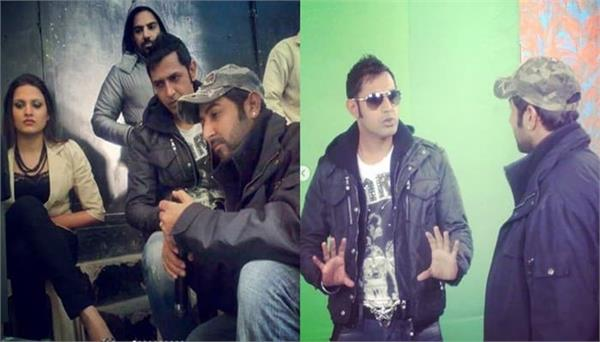 parmod sharma rana shares old pic with gippy grewal and himanshi