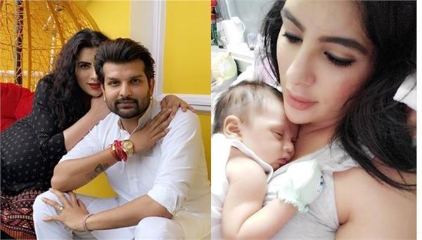 yuvraj hans mansi sharma share cute moments with newborn hredaan