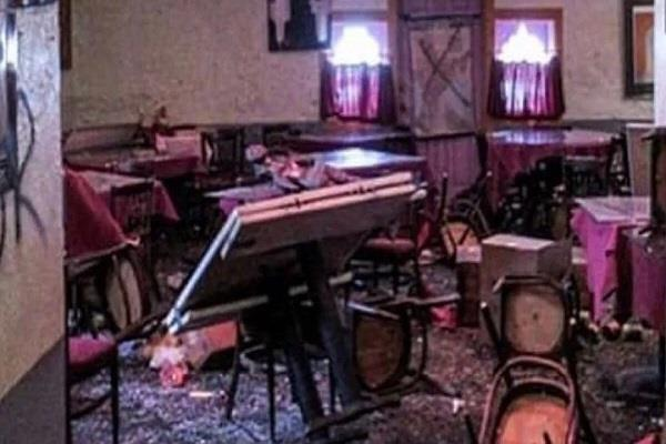 us sikh owned indian restaurant vandalised
