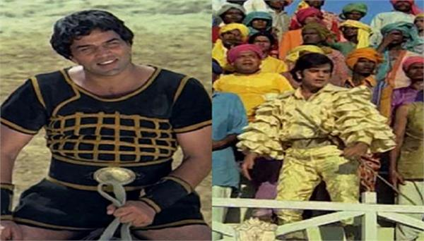 dharmendra deol shared his movie scene