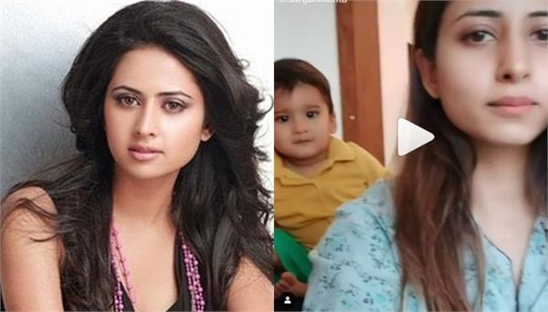 pollywood actress sargun mehta tiktok video viral on social media
