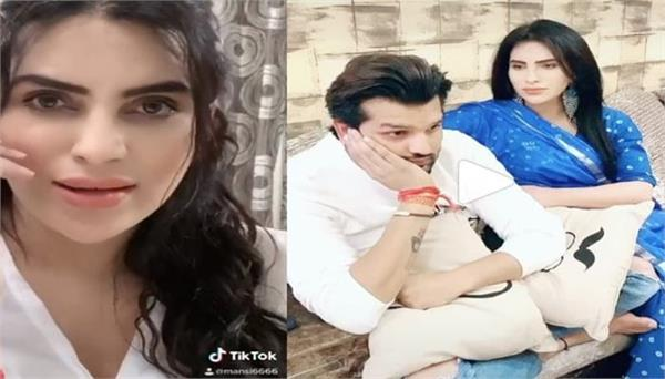 mansi sharma shares her first tiktok video after pregnancy