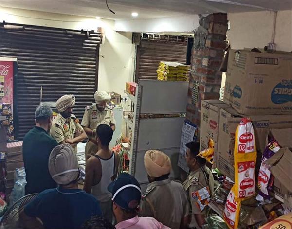 gurdaspur  major incident  looters  shop