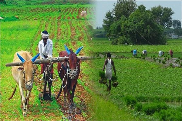 farmers income will double the government is working
