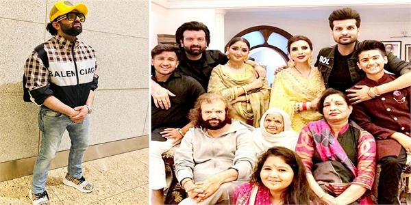 navraj hans with family