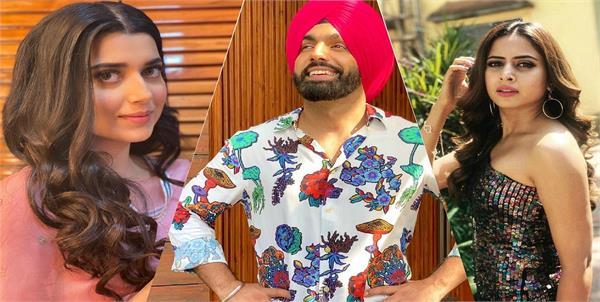ammy virk shared his next movie saunkan saunkne poster