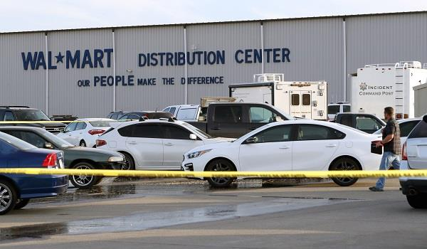 walmart distribution center shooting