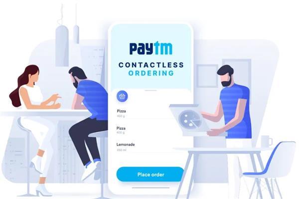 paytm contactless food order standard operating procedure restaurant menu