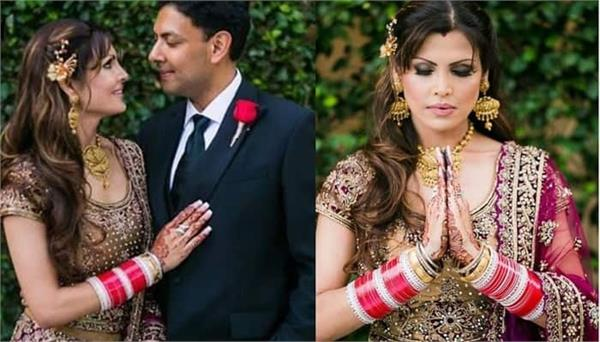 first time punjabi actress kimi verma shares her wedding photos