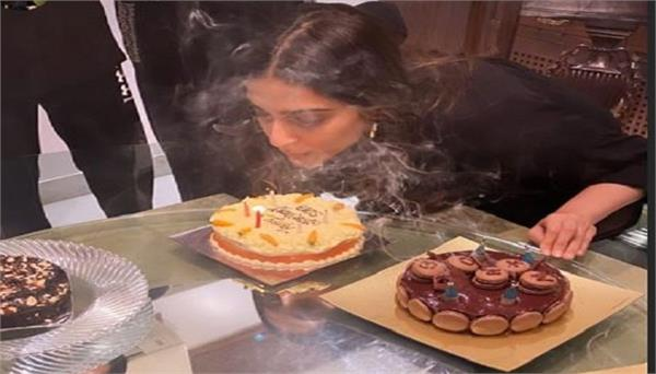 sonam kapoor  s birthday celebrations
